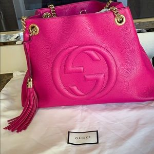 Gucci medium Soho Chain leather bag